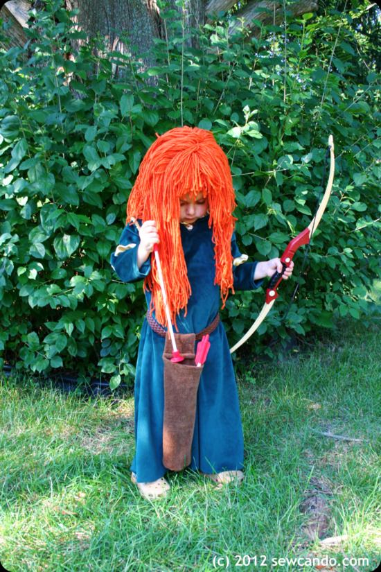 Merida Costume Quiver