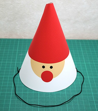 Paper Chef's Hat DIY Instructions - Red Ted Art - Make crafting ... | 438x386