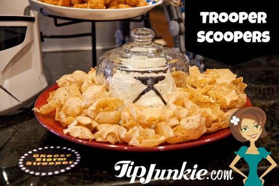 Trooper Scooper Recipe for Star wars party
