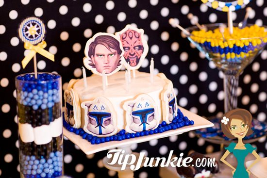 Star Wars Clone Wars Birthday Cake