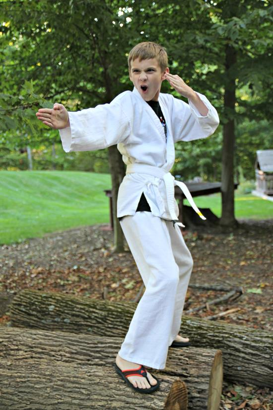 Taekwondo Repurpose Halloween Costume