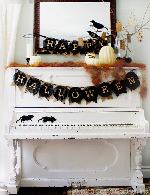 Happy Halloween Printable Banner