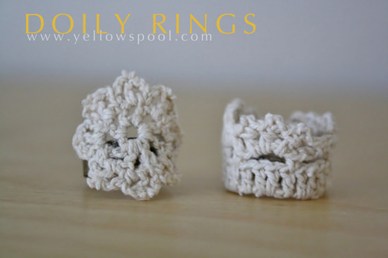 Lace Doily Ring