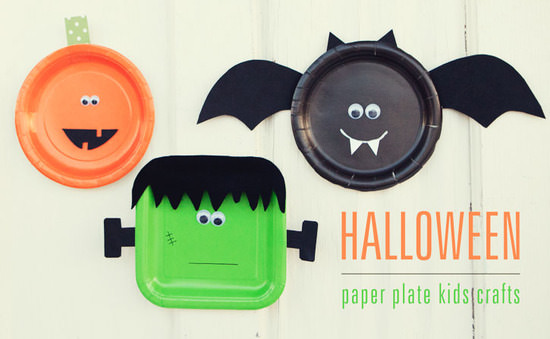Gallery & Halloween Paper Plate Craft for Kids | Tip Junkie