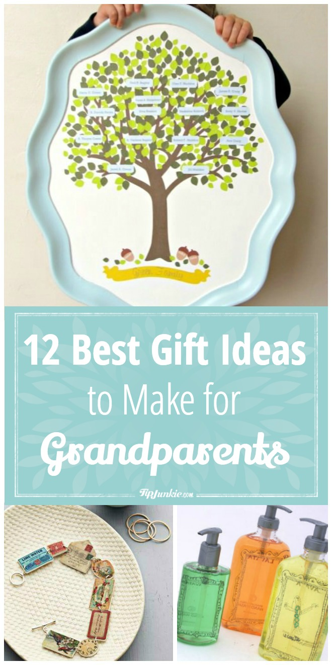 Best Gift Ideas to Make for Grandparents