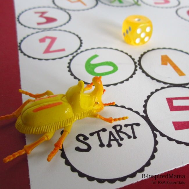 DIY Number Learning Game from B-InspiredMama 2