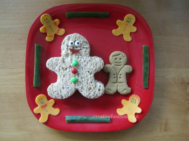 Gingerbread Man Lunch
