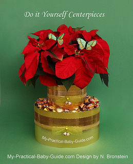 Poinsettias-Plant-Christmas-centerpiece