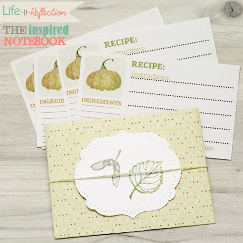 lifereflection inspirednotebook feature harvest time recipes