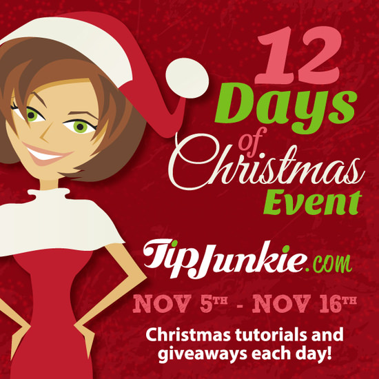 Tip Junkie 12 Days of Christmas Event