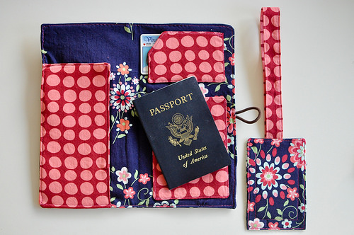 Travel Wallet with Luggage Tag