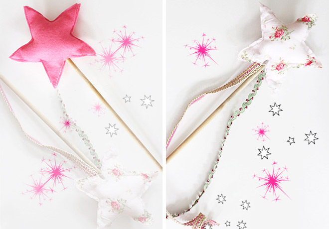 DIY Classic Play Magic Wand Sewing Tutorial