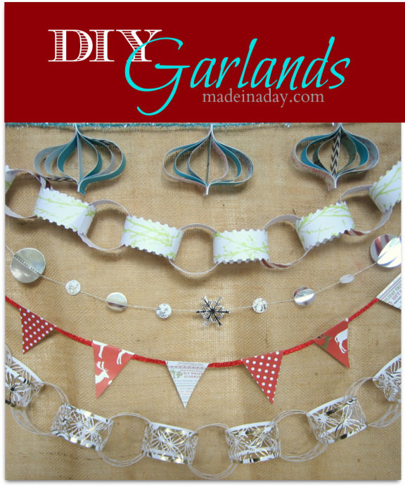 5 Easy Holiday Garlands