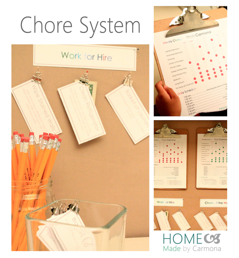 Chore System Collage
