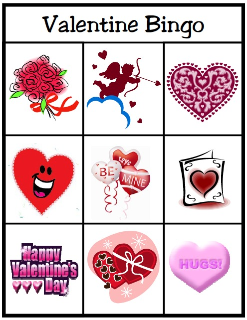 valentines day bingo heres a fun activity you can do as a family or at a valentines day or red day party valentines day games - Valentines Day Game