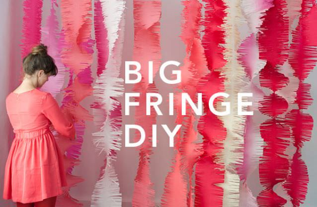 Big Fringe Garland