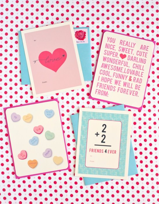 Printable Valentine's Day Card