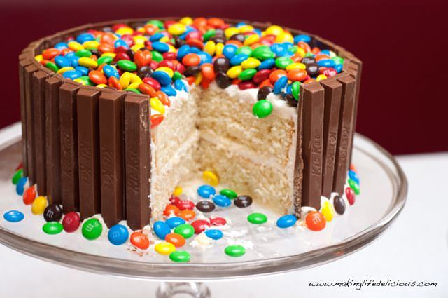 Homemade Birthday Cakes MMs Recipes