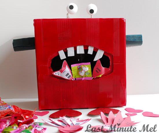 Monster Valentine Box