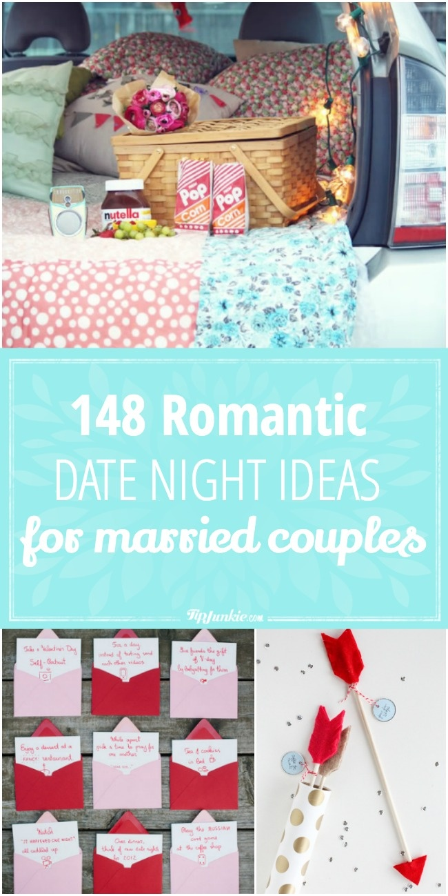 148 Romantic Date Night Ideas for Married Couples that are FABULOUS!