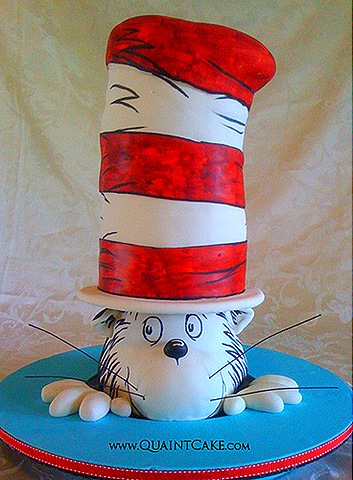 The Cat in the Hat Cake