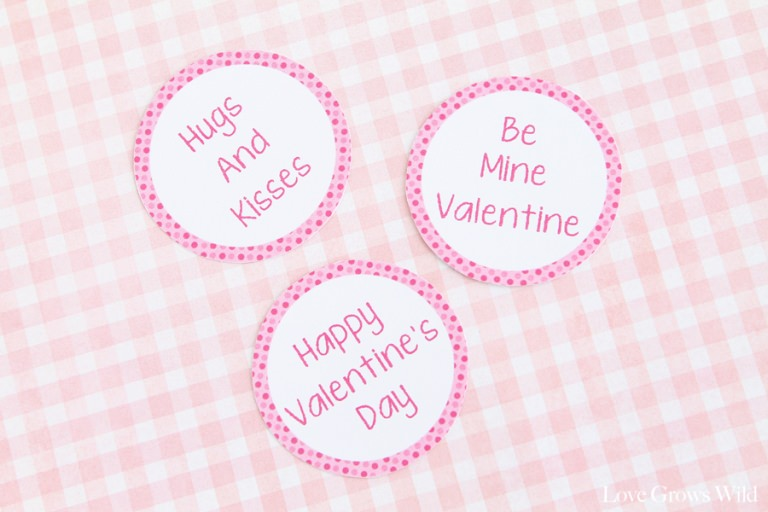Printable Valentine Cupcake Toppers For Boys Girls Tip Junkie
