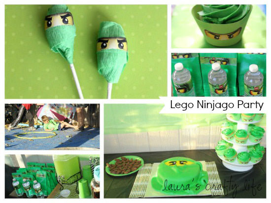 Lego Ninjago Party copy