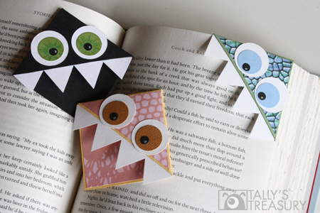 Monster Corner Bookmark