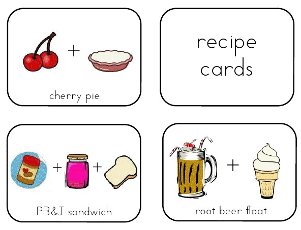 recipe template for kids
