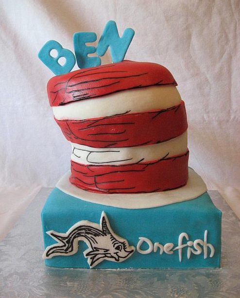 The Cat in the Hat Cakes