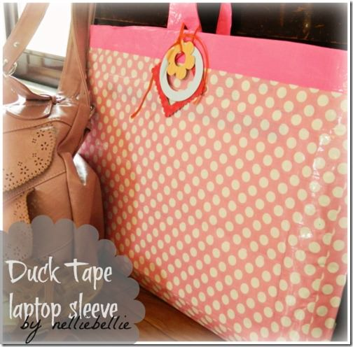 Laptop Sleeve DIY