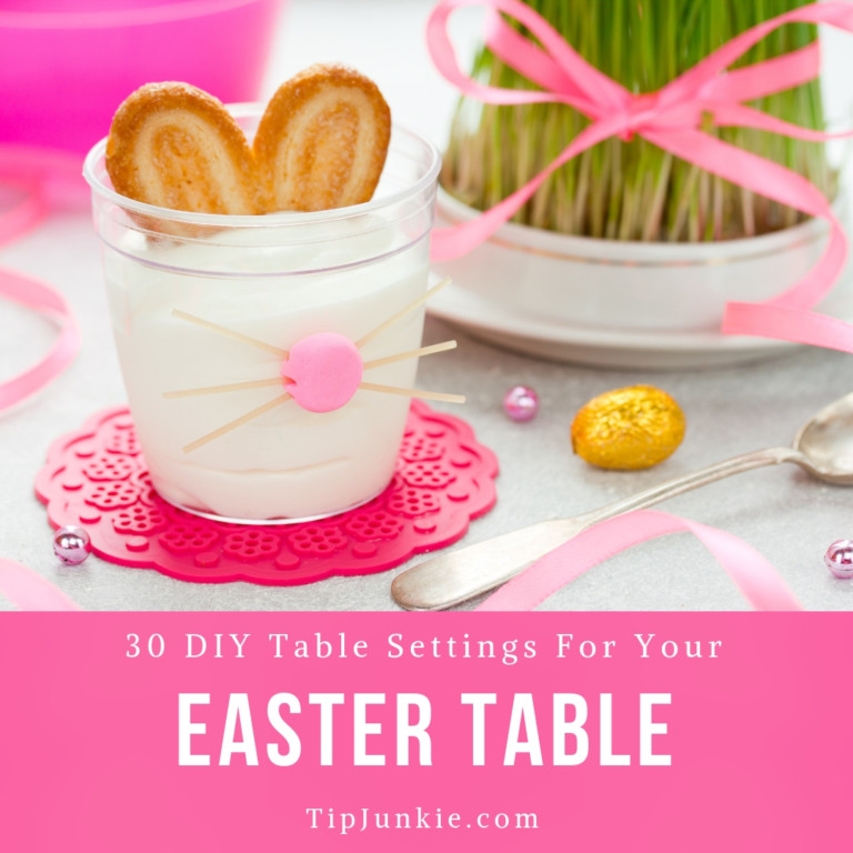 31 Fancy Easter Sunday Table Settings on Tip Junkie