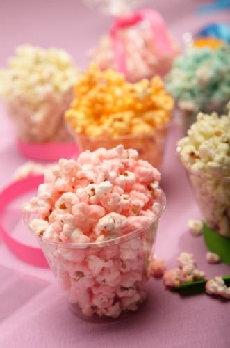 Colored Popcorn Recipe