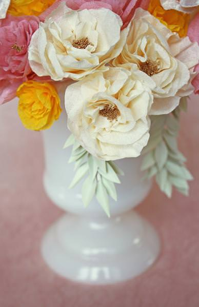 Paper Flower How-to