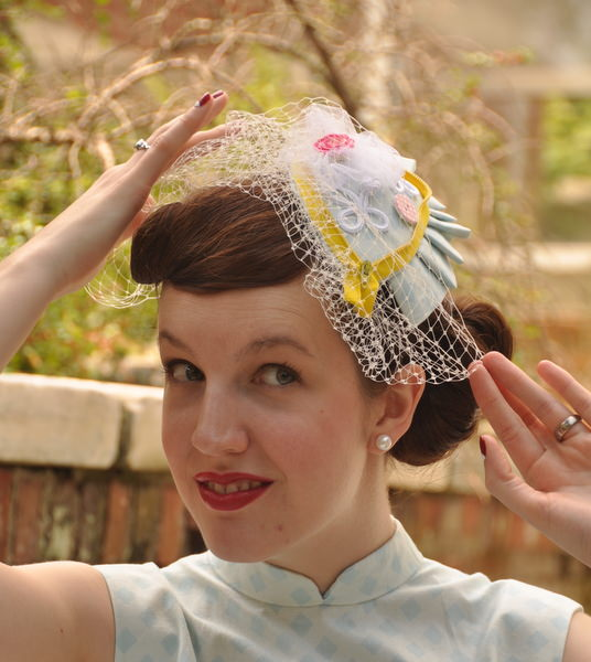 Easter Bonnet Fascinator