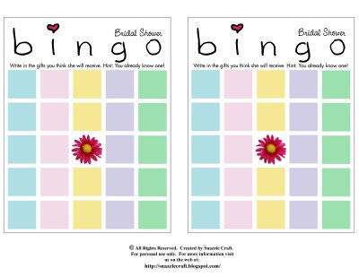 49 Printable Bingo Card Templates | Tip Junkie