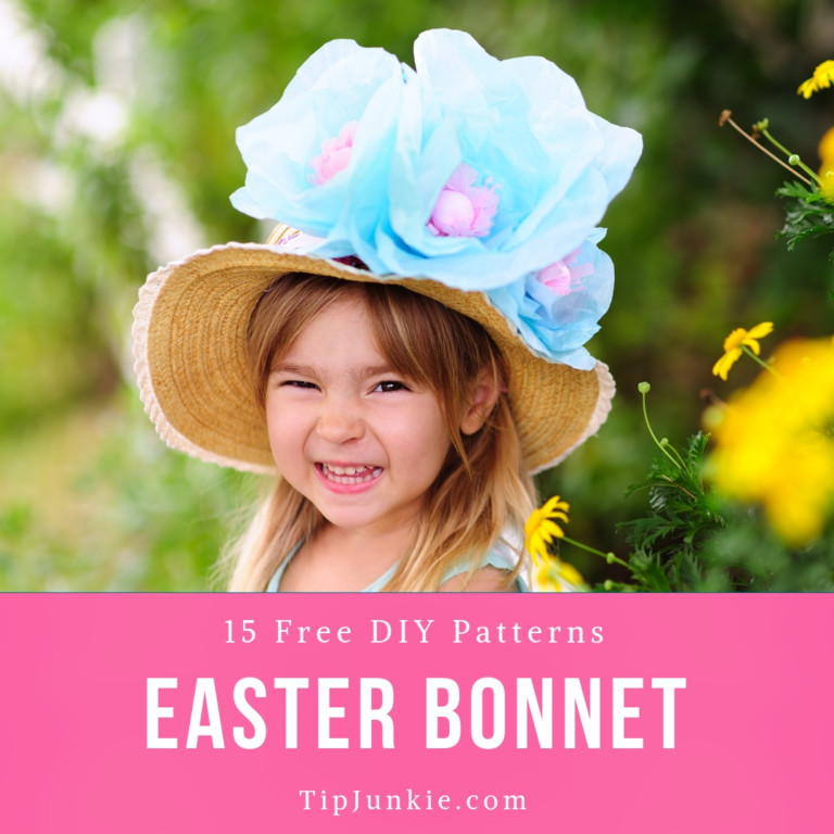 Homemade Easter Bonnet Patterns to Wear