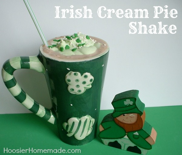 Irish Cream Pie Shake
