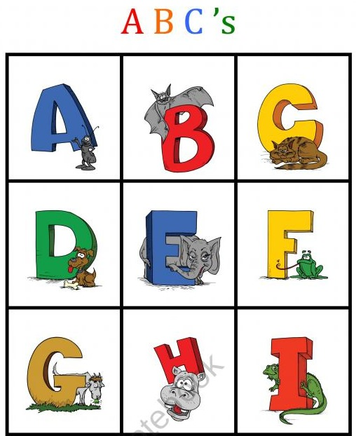 ABC Bingo Printable
