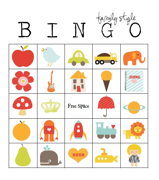 Printable Bingo Card Templates  Tip Junkie