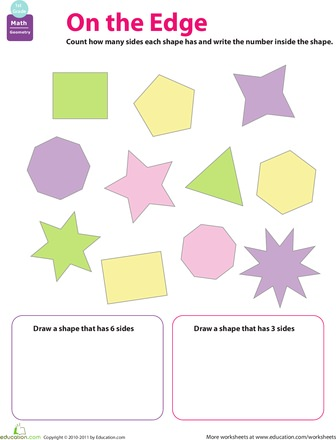 Math Art Worksheet