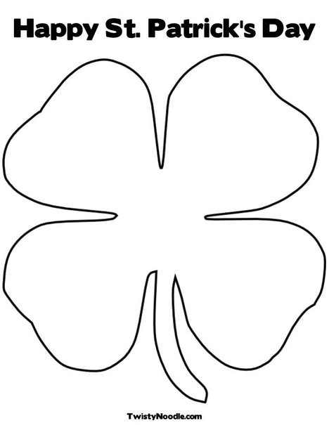 Free Printable St. Patrick's Day Coloring Pages - Oh My Creative | 605x468