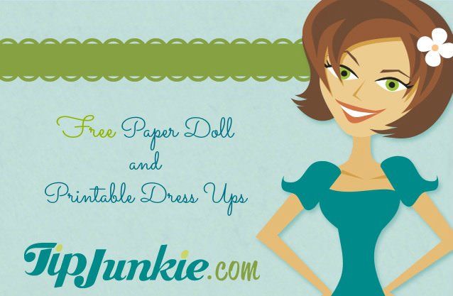 free paper doll templates