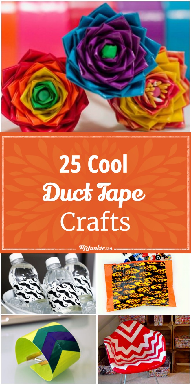 25 Cool Duct Tape Crafts
