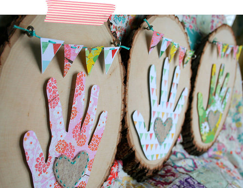 Handprint Gifts for Mom