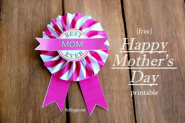 Best Mom Ever {free printable}