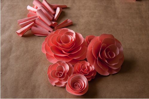 38 how to make paper flower tutorials so pretty tip junkie rolled paper flowers mightylinksfo