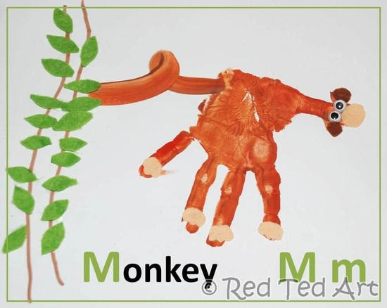 Monkey Craft Ideas