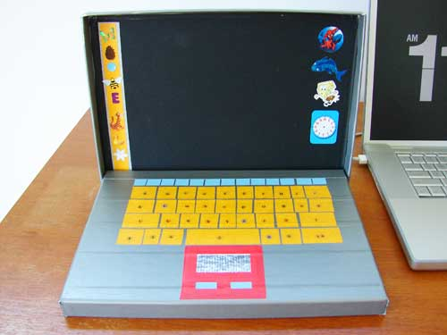 Duct Tape Laptop