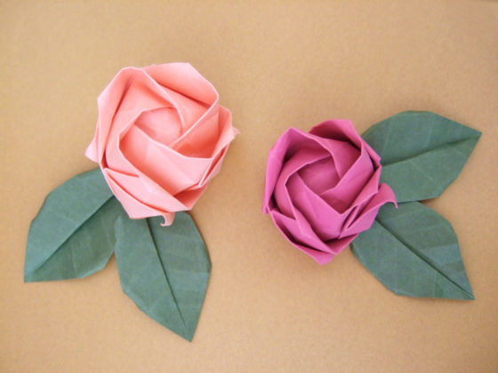 38 how to make paper flower tutorials so pretty tip junkie its really fun and nothing beats the feeling when you make that last fold and it all comes together and you think i made that these paper flower will mightylinksfo